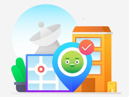 IP адрес - точное место расположения файлов вашего сайта